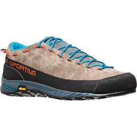 La Sportiva TX2 Leather Scarpe Uomo, falcon brown/tangerine